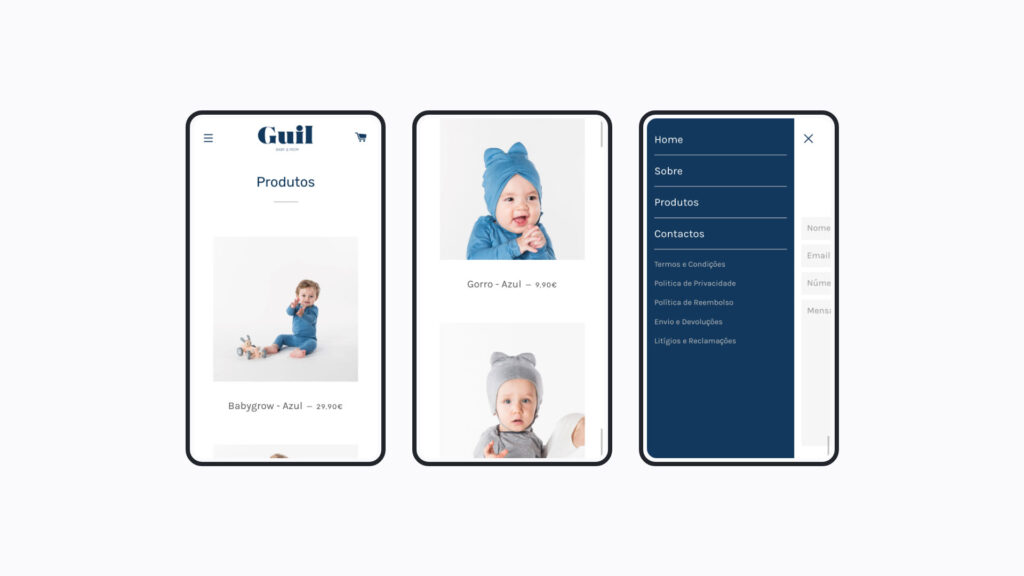 Guil - Online Store Shopify mobile