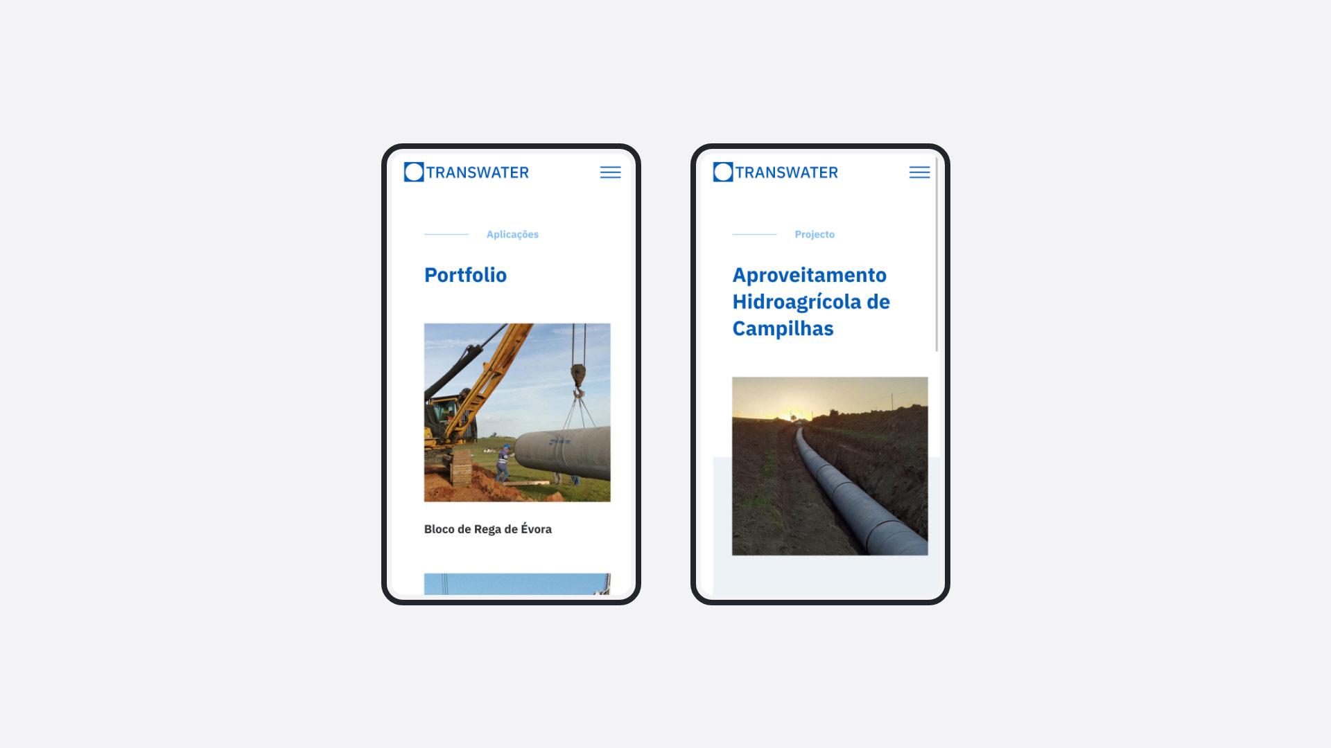 Transwater website by Alaska agency