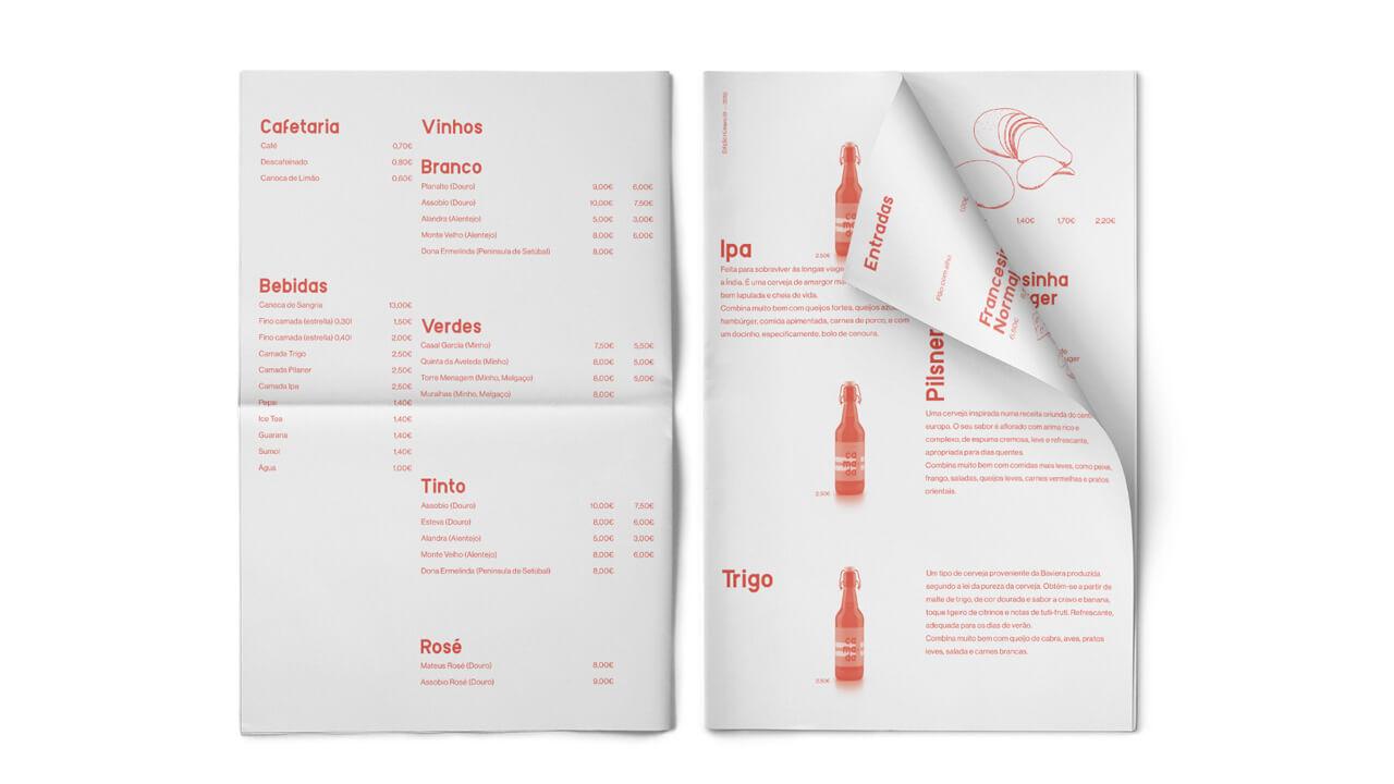 Camada Francesinhas - Design Ementa