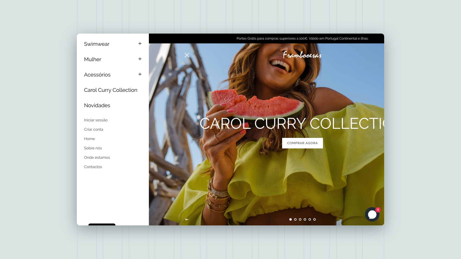 Frambooesas - Online store