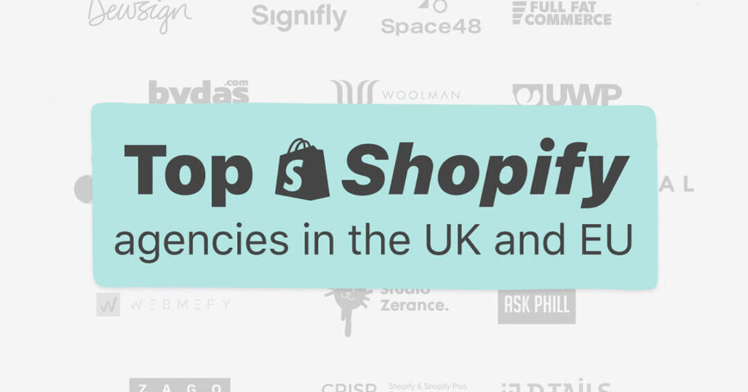 "Fomos mencionados no artigo da ShopPop ""Top 20+ Shopify Agencies in the UK and EU"""