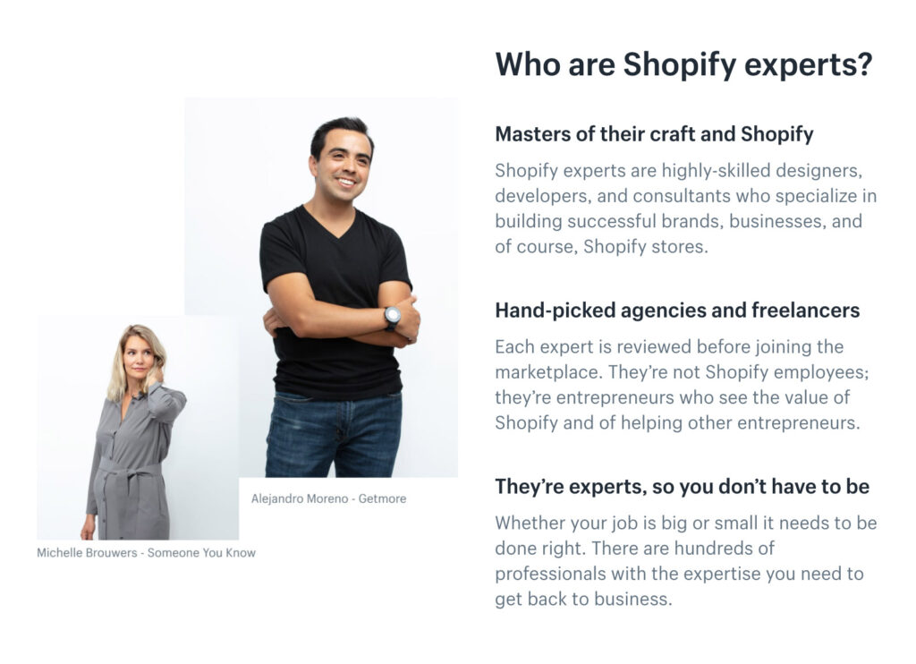 Somos Shopify Experts! ☝🏻 — Alaska Agency